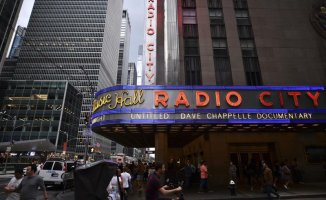 15 months Afterwards, Radio City reopens with Dave Chappelle