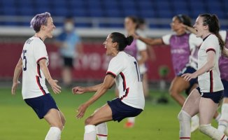 Rapinoe converts, and the USA wins over the Netherlands on penalties