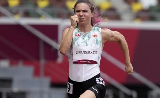 Belarus runner claims that the Olympic team tried sending her home
