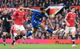 Man United fails again, Townsend claims Everton point