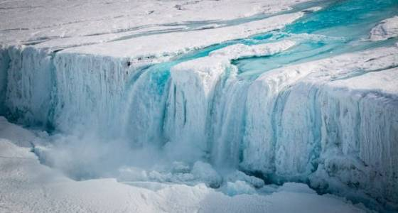 Antarctica is leaking from the inside out