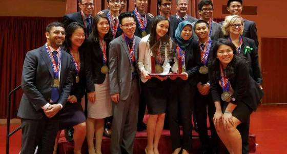 Granada Hills Charter wins third consecutive national Academic Decathlon
