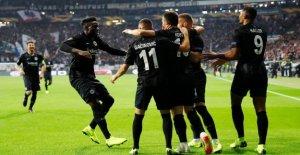 Europa League: Eintracht Frankfurt continues to be a success