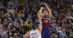 The Barcelona denied Real Madrid in the Palau