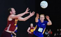 Netball, A Man's Game Too?