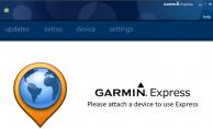 Installing Garmin Express Software