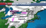 1 hit of wintry weather before spring-like States for Eastern US