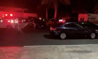 Police negotiators on Spectacle in Resort after reports of a barricaded gunman, gunshots