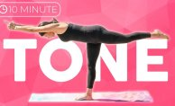 This yoga Stream will tone Your Entire body in 10 minutes