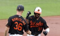 Mullins' Set of home runs Forces Orioles past floundering Blue Jays in series opener
