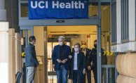 Bill Clinton is released from a Southern California hospital