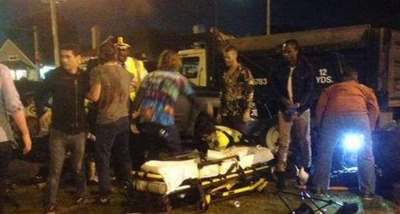 28 injured after car plows through crowd at New Orleans Mardi Gras parade, police say