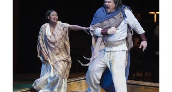 'Aida' features a memorable debut in Costa Mesa