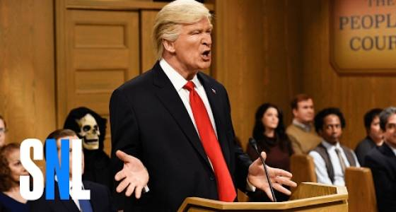Alec Baldwin is writing a book as Donald Trump about Donald Trump