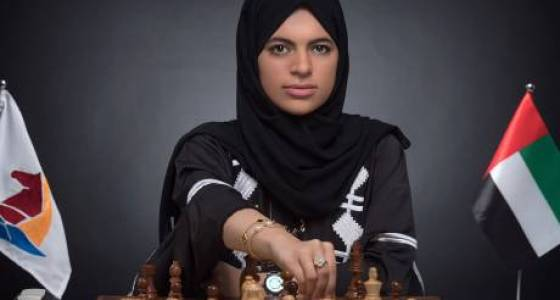 Amna Noaman reigns as UAE's rapid chess queen