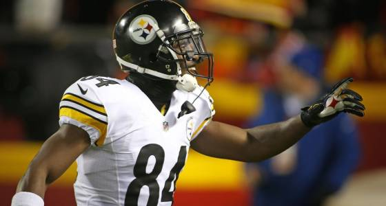 Antonio Brown knows pressure is on high-priced Steelers offense