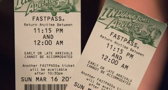Are Disneyland visitors scalping Fastpasses?