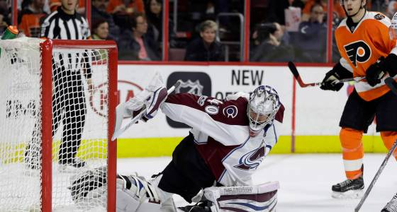 Avalanche quiet on all fronts in Philadelphia