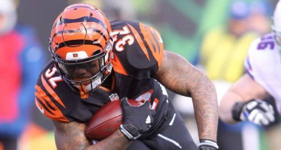 Bengals could draft RB early even with Jeremy Hill, Giovani Bernard