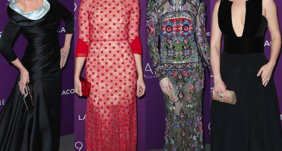 Best-Dressed At The 2017 Costume Designers Guild Awards: Jane Fonda, Mandy Moore, Lily Collins And More