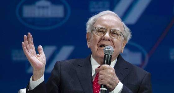 Buffett's firm says 4Q profit up 15 percent on investments