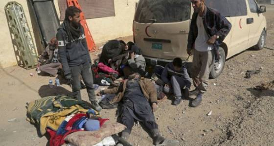 Casualties mount as US-backed Iraqi forces push deeper into IS-held Mosul