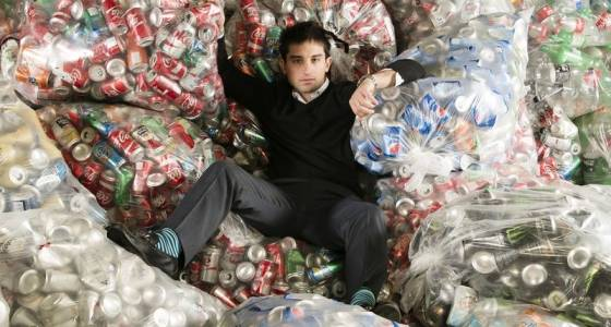 Conrad Cutler built an empire on recycling cans. But he's putting a dent in city revenue