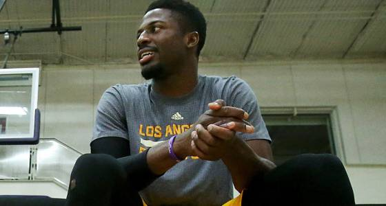 David Nwaba will go from lifelong fan to Lakers player Tuesday night against Charlotte