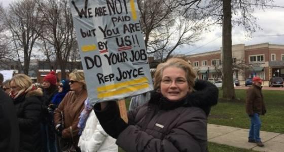 "District 14 ""town hall"" misses Rep. David Joyce"