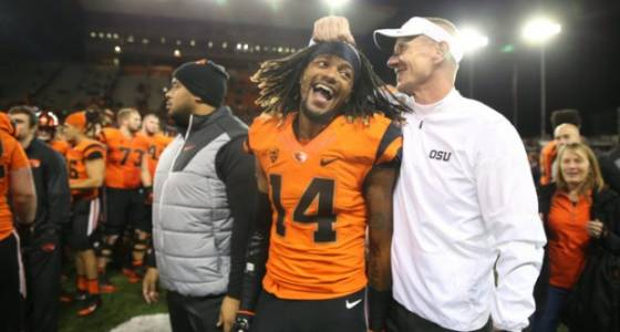 Eddie Smith, childhood friend of Treston Decoud, excited by Oregon State Beavers offer