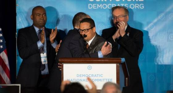 Ellison, other liberal activists, new DNC boss face Trump-era reckoning