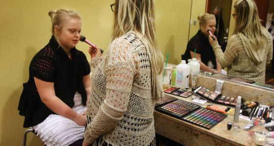 Fashion show provides opportunities for special athletes