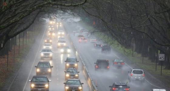 Friday morning commute: Wet roads, snow in Coast Range