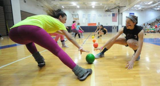 Fundraising dodgeball tournament a hit in Nazareth (PHOTOS)