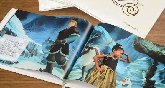 Girls can become Disney storybook stars for $150