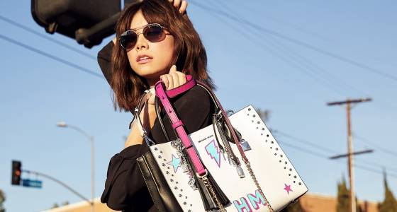 Hailee Steinfeld, Kelly Rohrbach appear in Michael Kors' L.A.-themed handbag campaign