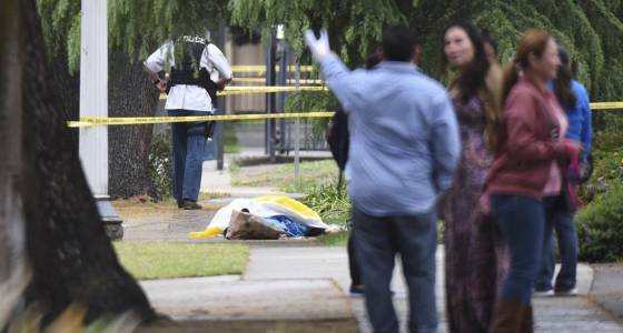 Hate crime is suspected after a gunman kills 3 white men in downtown Fresno