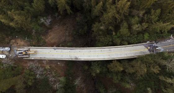 Highway 1 reopens between Big Sur and Carmel, but southern sections remain closed