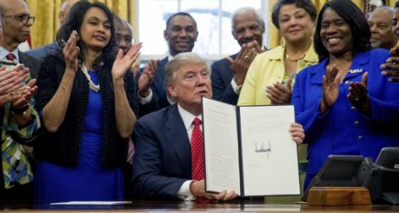 Historically black colleges, including 2 in Ohio, receive support - but no money - from White House