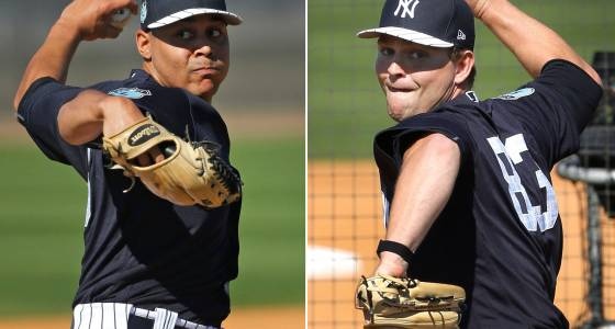 How 2 prize Yankees arms impressed Girardi in uneven debuts