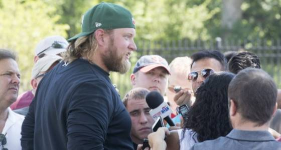 How much salary cap space do Jets have after releasing Nick Mangold?