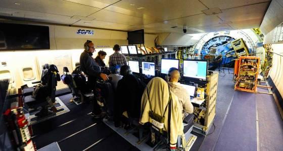 Inside SOFIA, NASA's airborne infrared telescope