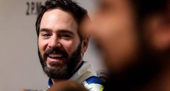 Is NASCAR's Jimmie Johnson nearing Tom Brady, Tiger Woods status?