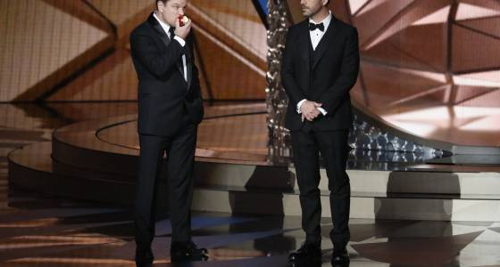 Jimmy Kimmel's 'feud' with Matt Damon spills over to the Oscars
