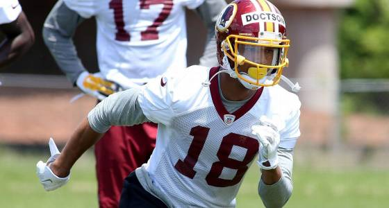Josh Doctson increases work as he recovers from Achilles issues