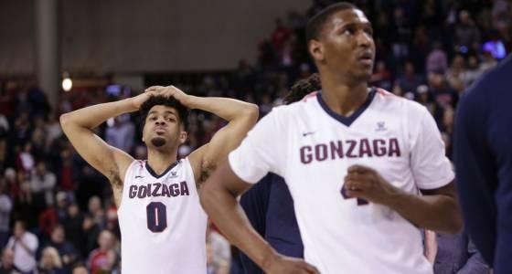 Kansas No. 1 in AP, Gonzaga stumbles to 4th