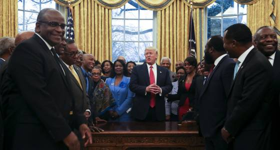 Leaders of Morgan State, Bowie met with Trump to discuss HCBUs