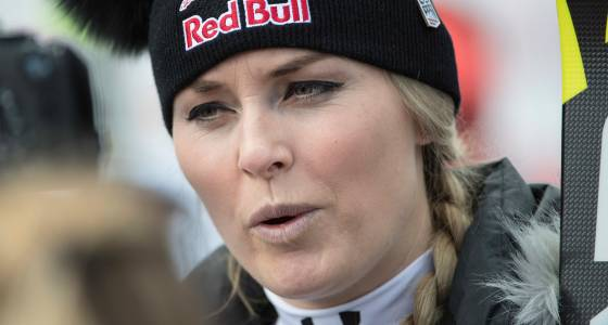 Lindsey Vonn criticizes ski officials after pulling out of Alpine combined race