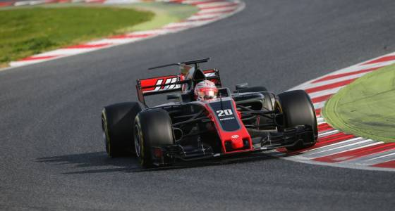 Magnussen 'really impressed' with early days at Haas