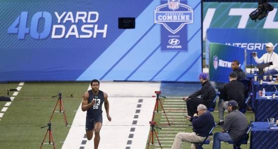 NFL's top prospects ready to be poked, prodded, weighed and measured at annual scouting combine